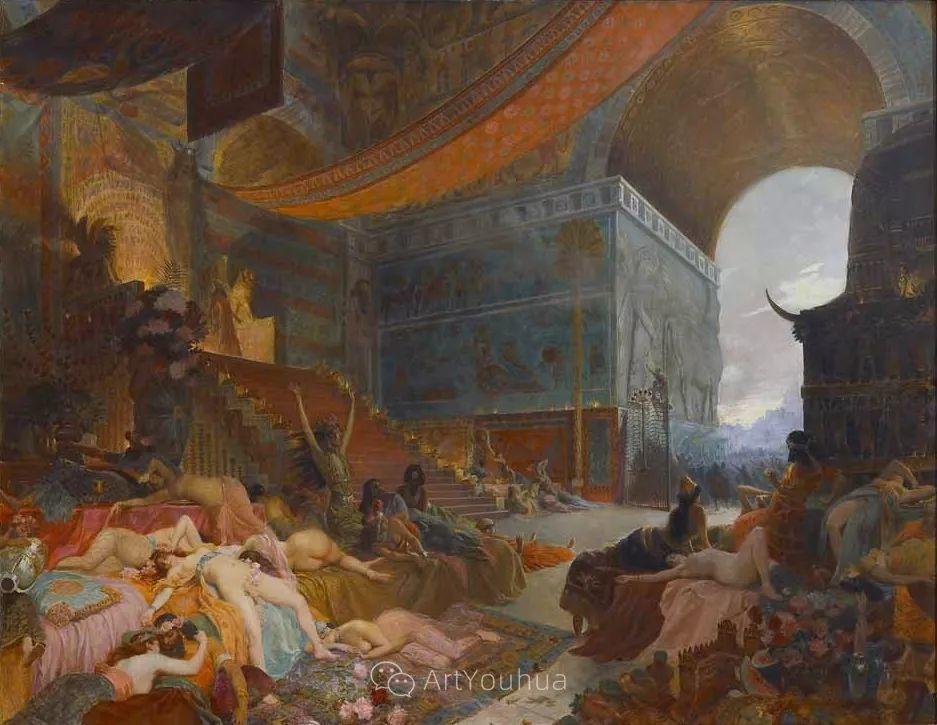 历史装饰画家,法国Georges Antoine Rochegrosse插图33