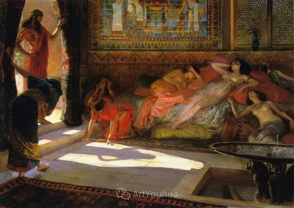 历史装饰画家,法国Georges Antoine Rochegrosse插图35