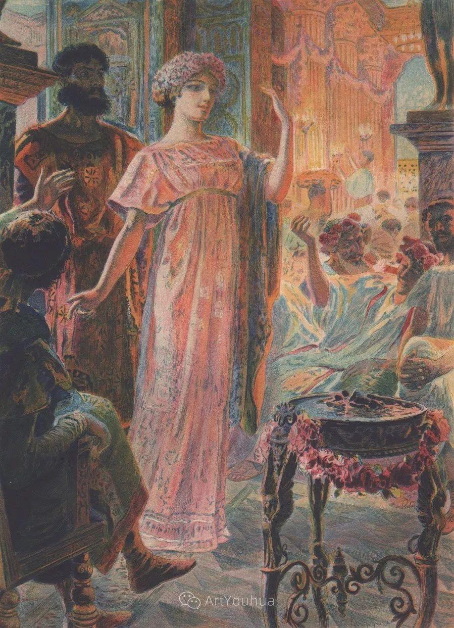 历史装饰画家,法国Georges Antoine Rochegrosse插图18