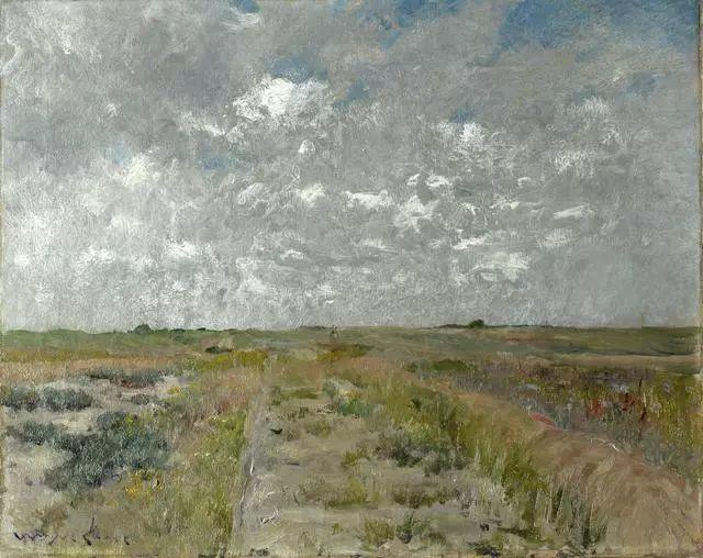 油画风景,美国画家William Merritt Chase插图13