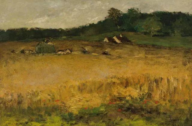 油画风景,美国画家William Merritt Chase插图47