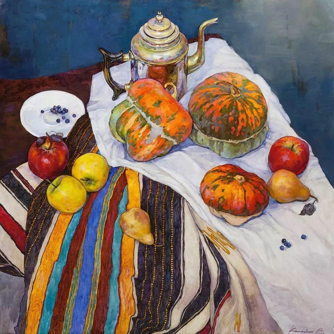 油画居然画得这么鲜艳?俄罗斯Victoria Kalaichi插图