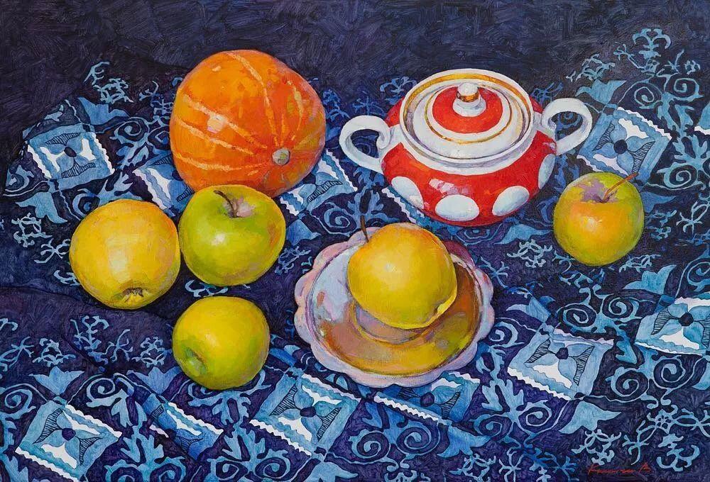 油画居然画得这么鲜艳?俄罗斯Victoria Kalaichi插图8