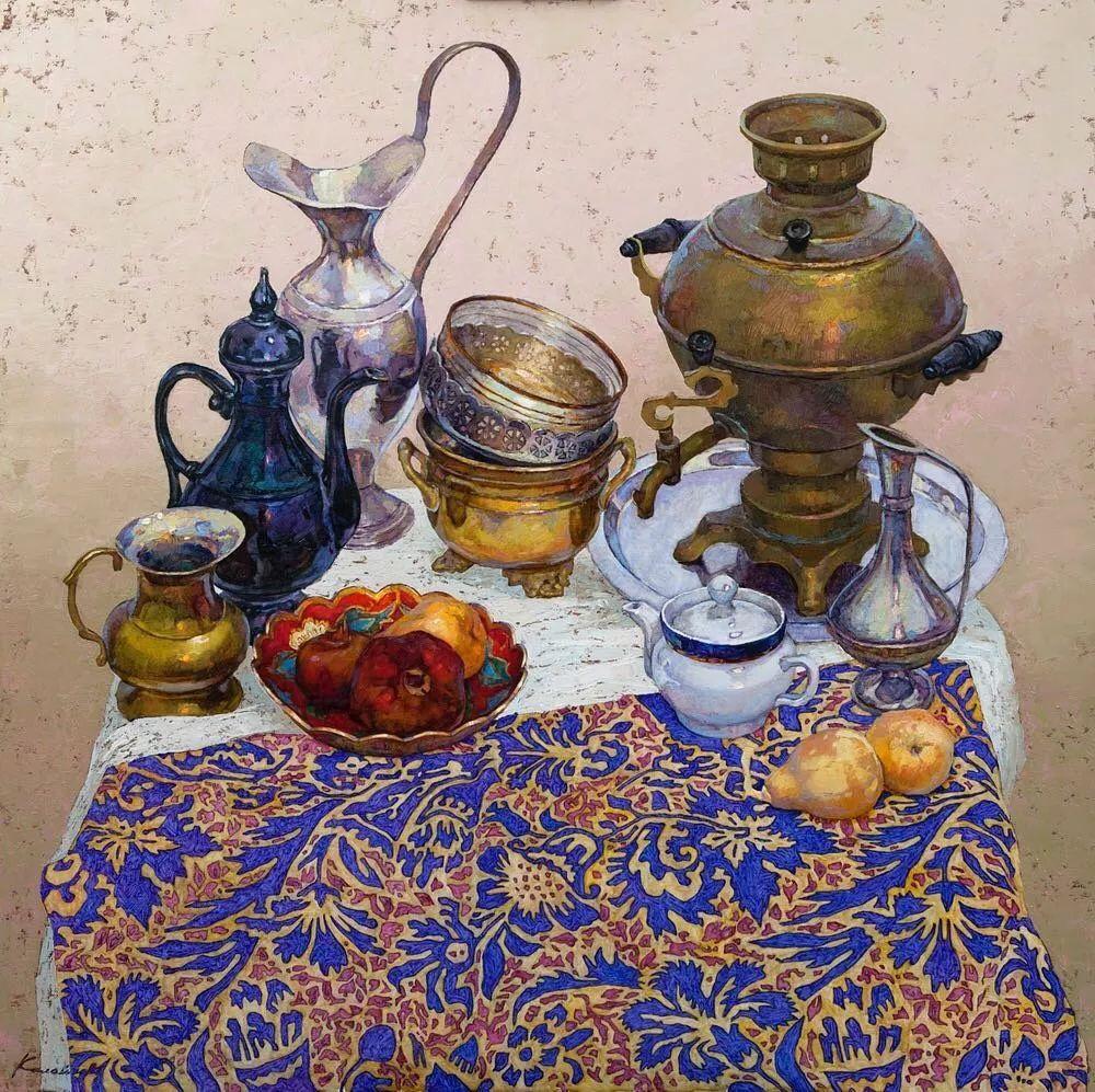油画居然画得这么鲜艳?俄罗斯Victoria Kalaichi插图12