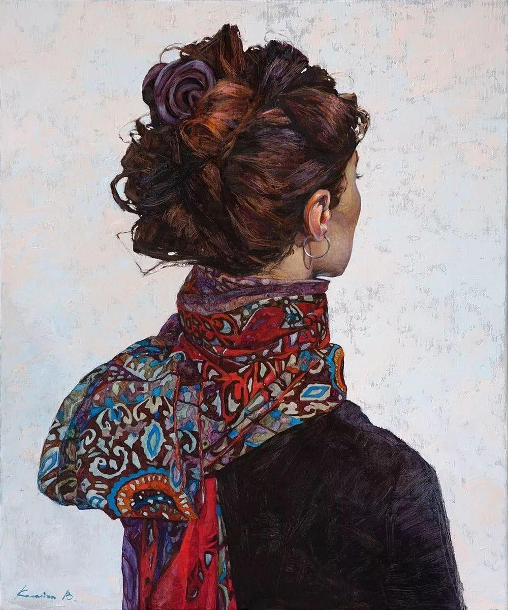 油画居然画得这么鲜艳?俄罗斯Victoria Kalaichi插图15