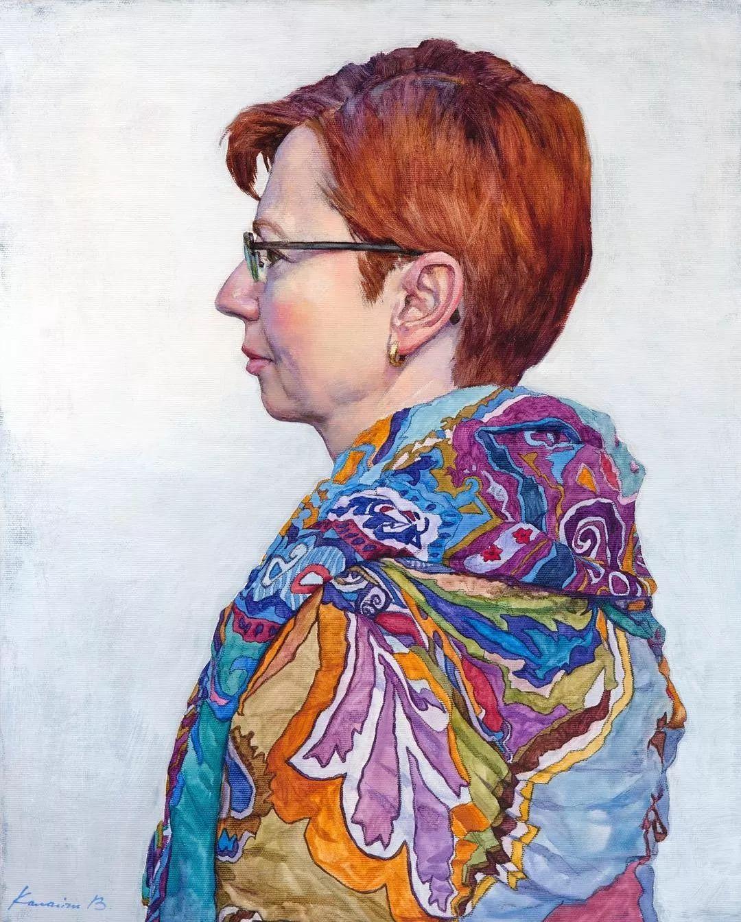 油画居然画得这么鲜艳?俄罗斯Victoria Kalaichi插图18