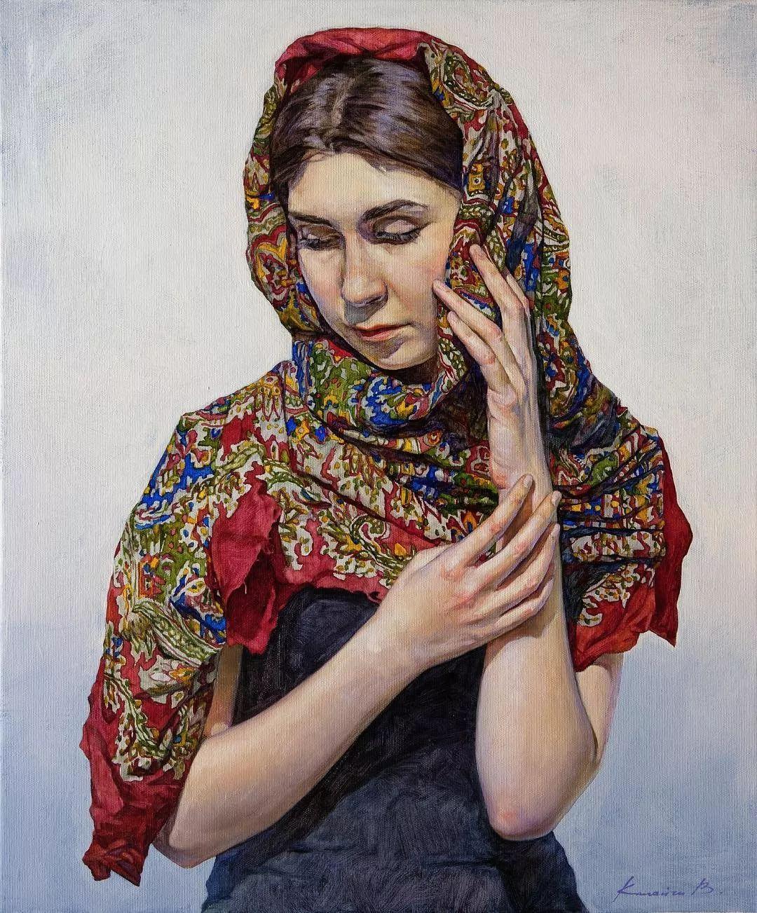 油画居然画得这么鲜艳?俄罗斯Victoria Kalaichi插图20