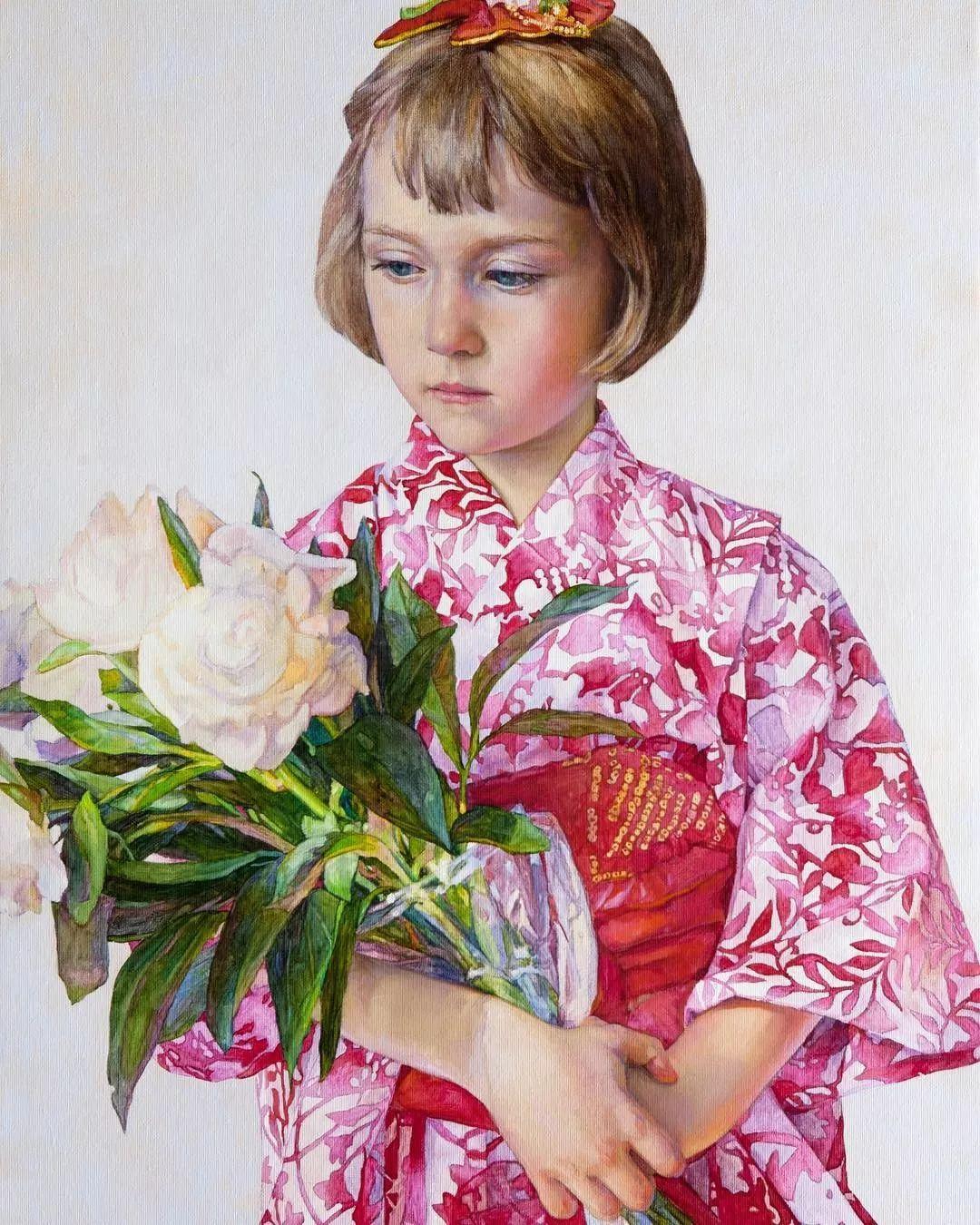 油画居然画得这么鲜艳?俄罗斯Victoria Kalaichi插图21