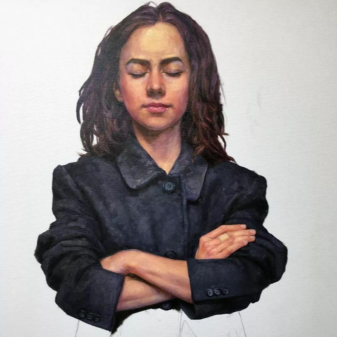 油画居然画得这么鲜艳?俄罗斯Victoria Kalaichi插图28
