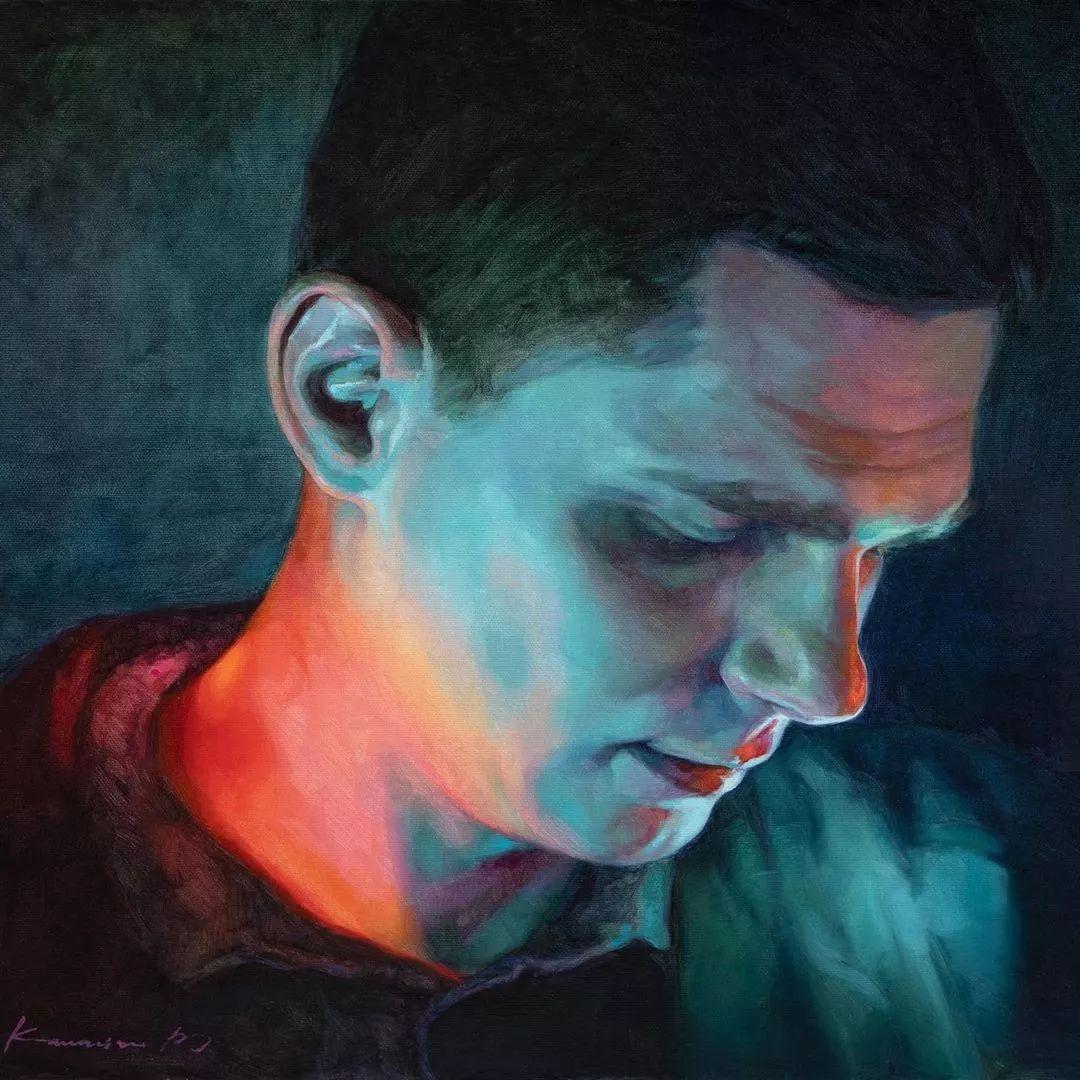 油画居然画得这么鲜艳?俄罗斯Victoria Kalaichi插图31