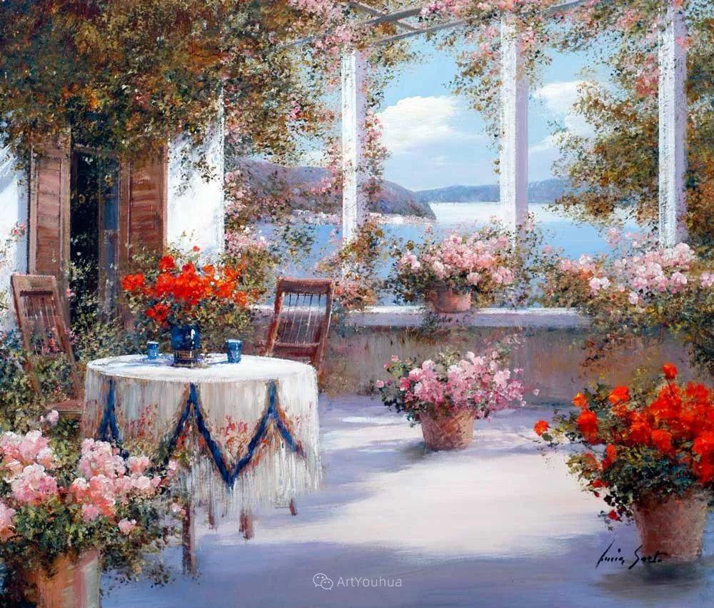 温暖如花,浪漫一刹!意大利浪漫印象主义女画家Lucia Sarto插图3