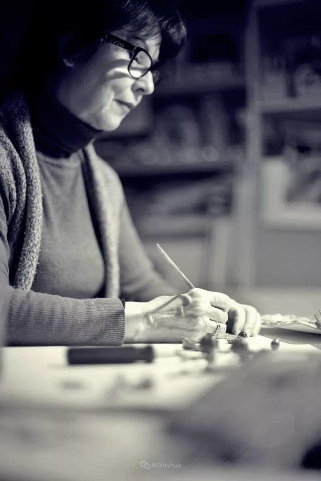 温暖如花,浪漫一刹!意大利浪漫印象主义女画家Lucia Sarto插图5