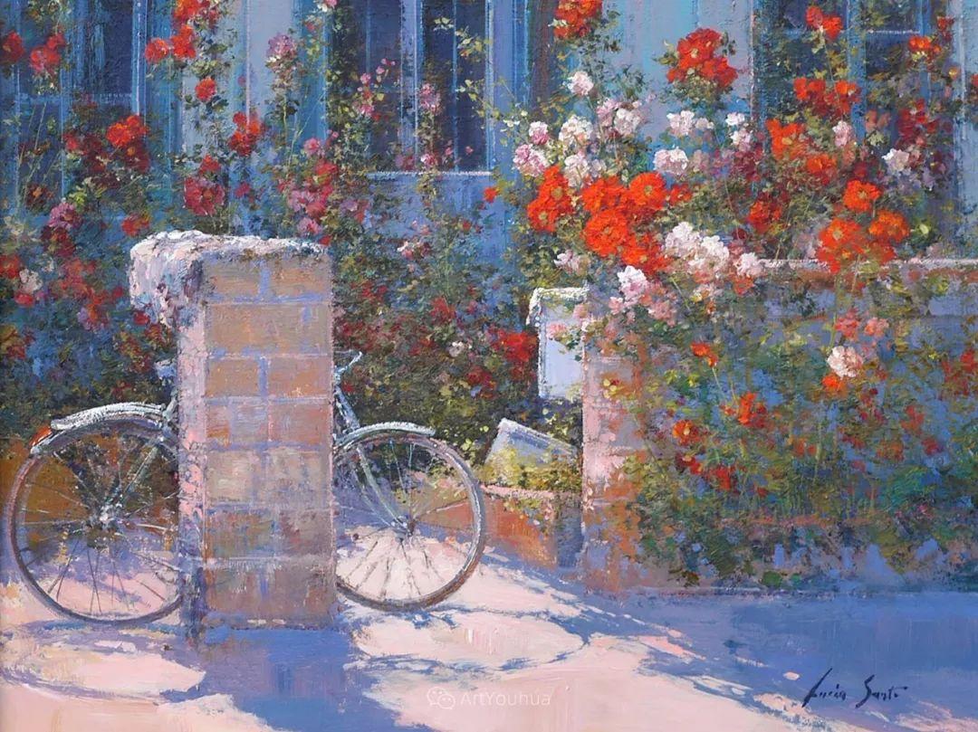 温暖如花,浪漫一刹!意大利浪漫印象主义女画家Lucia Sarto插图9