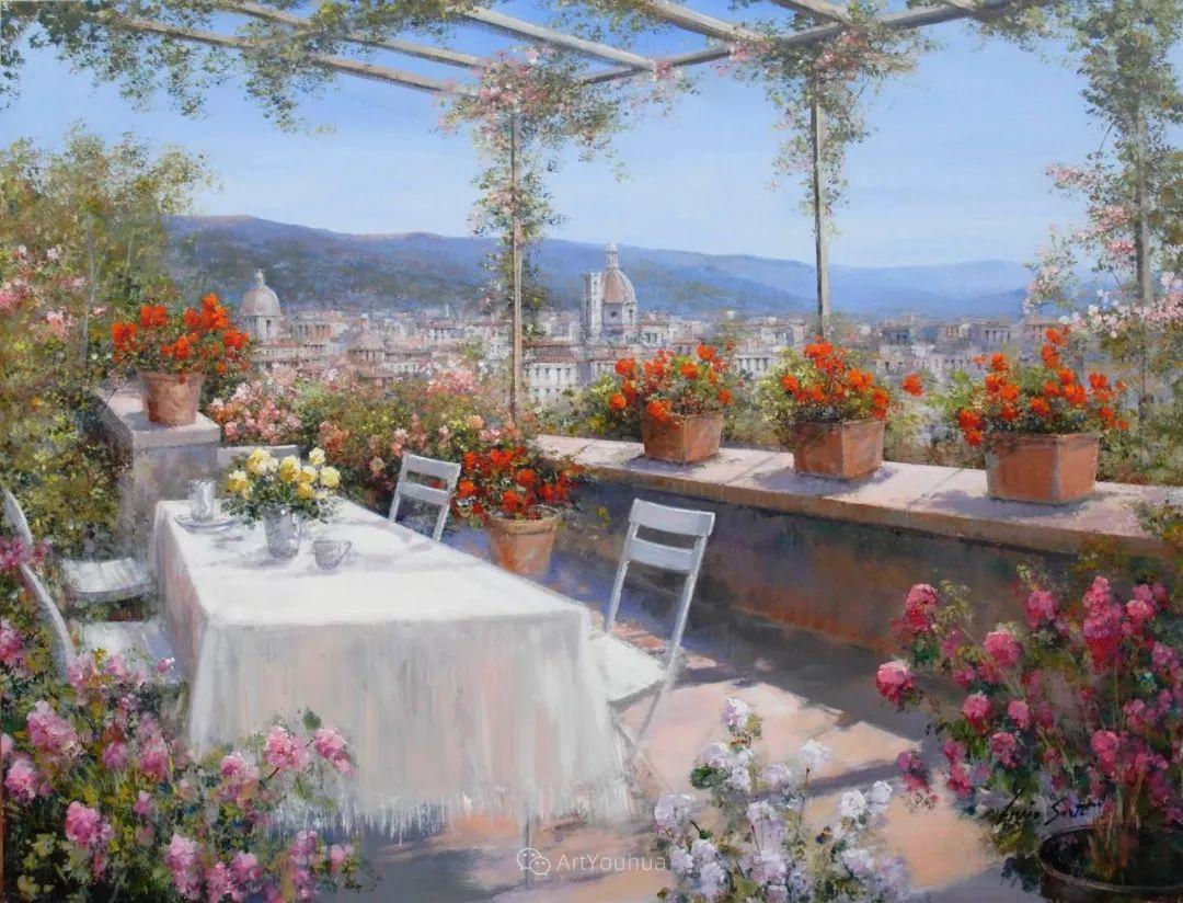 温暖如花,浪漫一刹!意大利浪漫印象主义女画家Lucia Sarto插图11