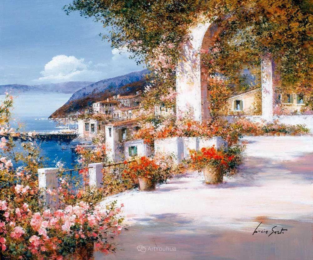 温暖如花,浪漫一刹!意大利浪漫印象主义女画家Lucia Sarto插图13