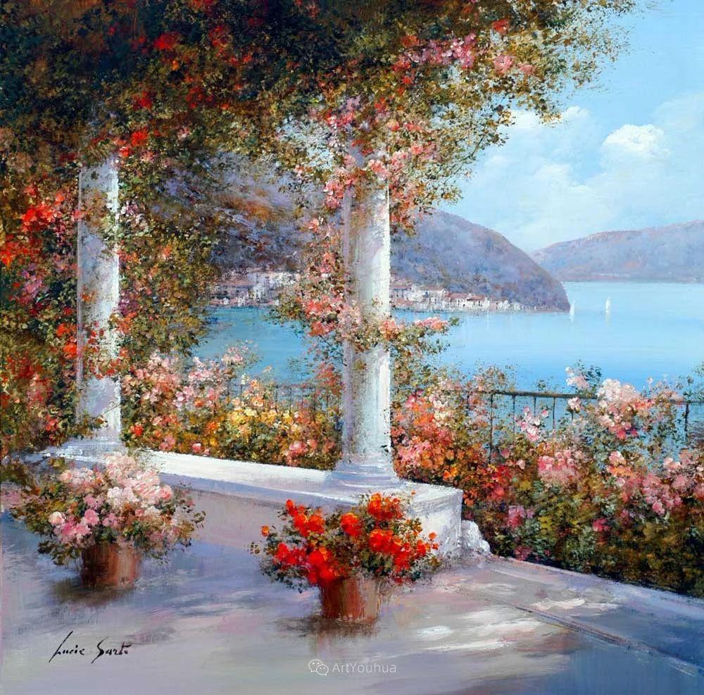温暖如花,浪漫一刹!意大利浪漫印象主义女画家Lucia Sarto插图15