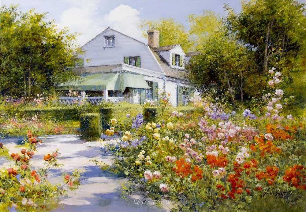 温暖如花,浪漫一刹!意大利浪漫印象主义女画家Lucia Sarto插图17