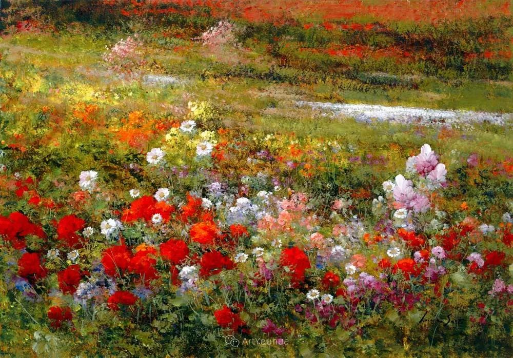 温暖如花,浪漫一刹!意大利浪漫印象主义女画家Lucia Sarto插图19