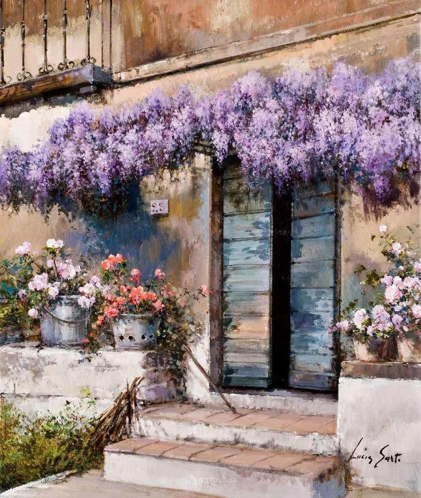 温暖如花,浪漫一刹!意大利浪漫印象主义女画家Lucia Sarto插图21