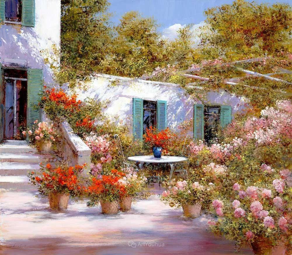 温暖如花,浪漫一刹!意大利浪漫印象主义女画家Lucia Sarto插图23