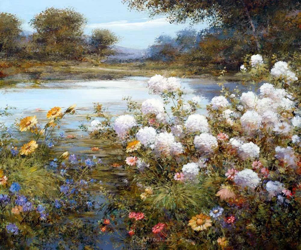 温暖如花,浪漫一刹!意大利浪漫印象主义女画家Lucia Sarto插图25