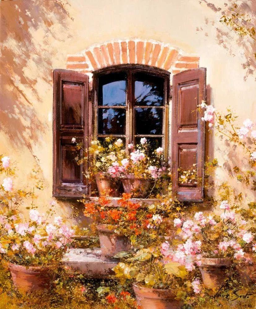 温暖如花,浪漫一刹!意大利浪漫印象主义女画家Lucia Sarto插图27