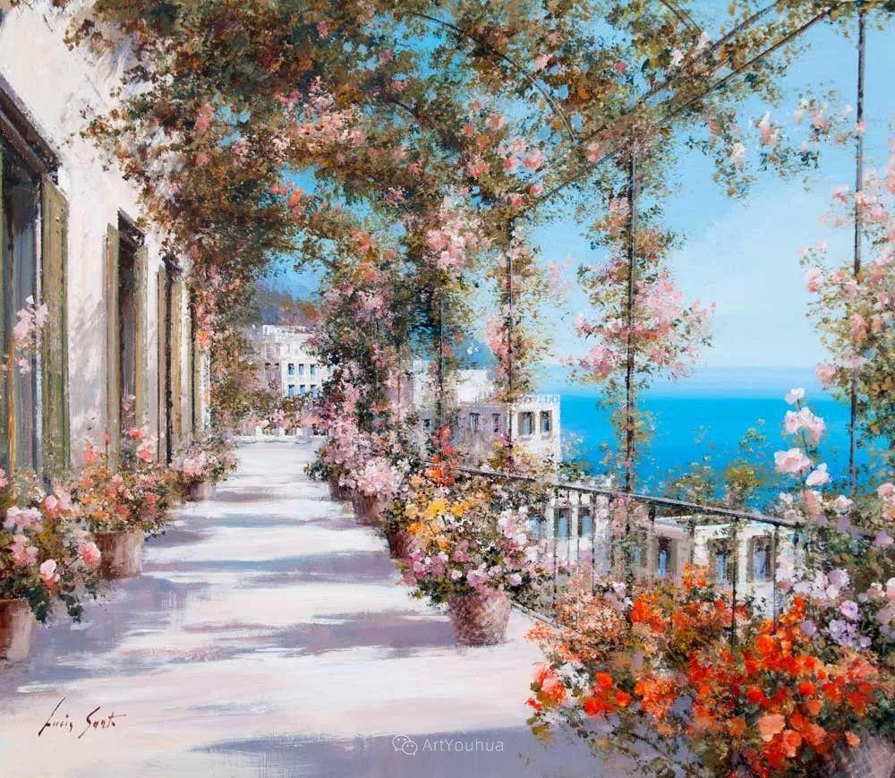 温暖如花,浪漫一刹!意大利浪漫印象主义女画家Lucia Sarto插图29