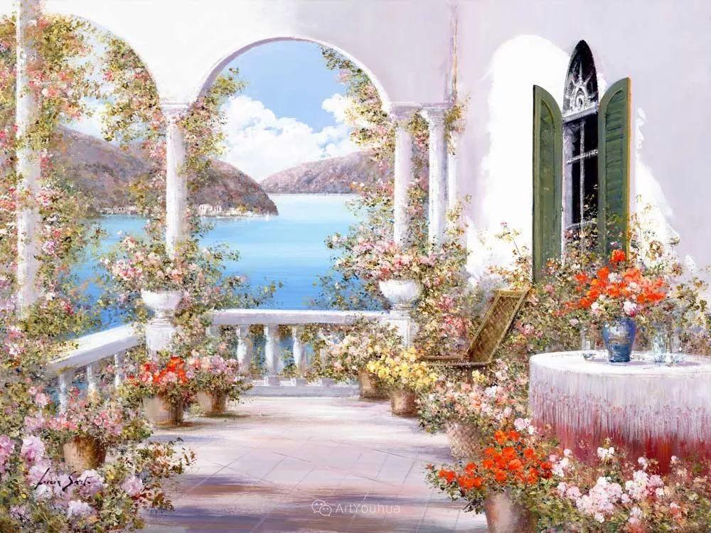 温暖如花,浪漫一刹!意大利浪漫印象主义女画家Lucia Sarto插图31