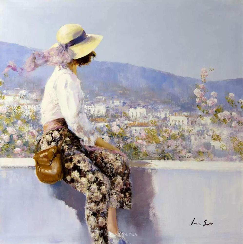 温暖如花,浪漫一刹!意大利浪漫印象主义女画家Lucia Sarto插图33