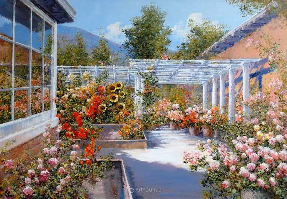 温暖如花,浪漫一刹!意大利浪漫印象主义女画家Lucia Sarto插图35