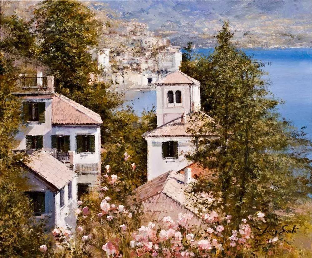 温暖如花,浪漫一刹!意大利浪漫印象主义女画家Lucia Sarto插图39