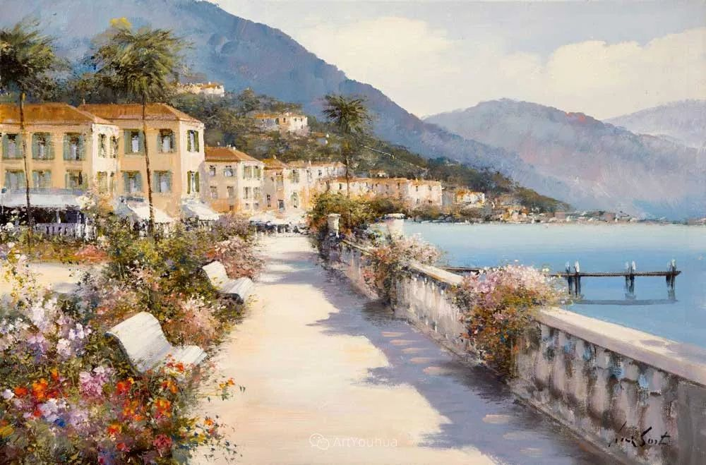 温暖如花,浪漫一刹!意大利浪漫印象主义女画家Lucia Sarto插图43