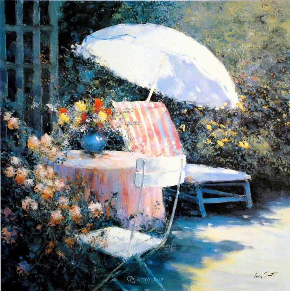 温暖如花,浪漫一刹!意大利浪漫印象主义女画家Lucia Sarto插图47