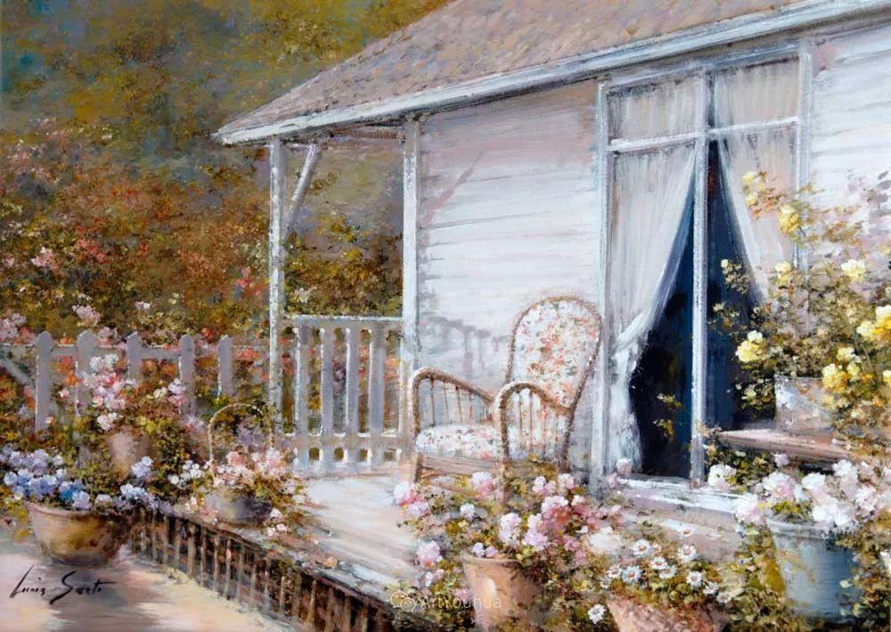 温暖如花,浪漫一刹!意大利浪漫印象主义女画家Lucia Sarto插图49