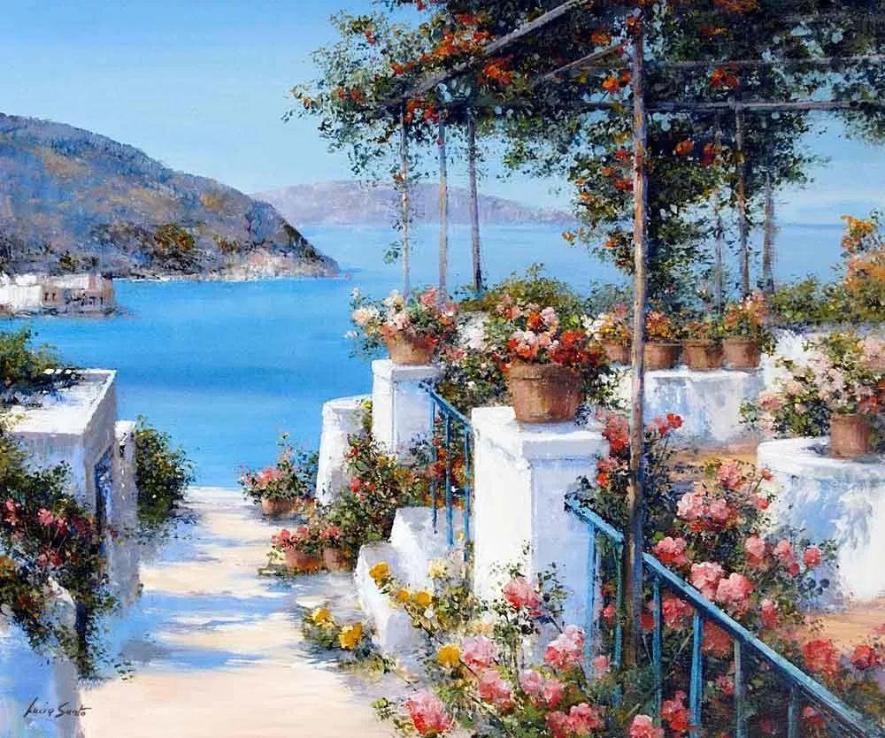 温暖如花,浪漫一刹!意大利浪漫印象主义女画家Lucia Sarto插图53