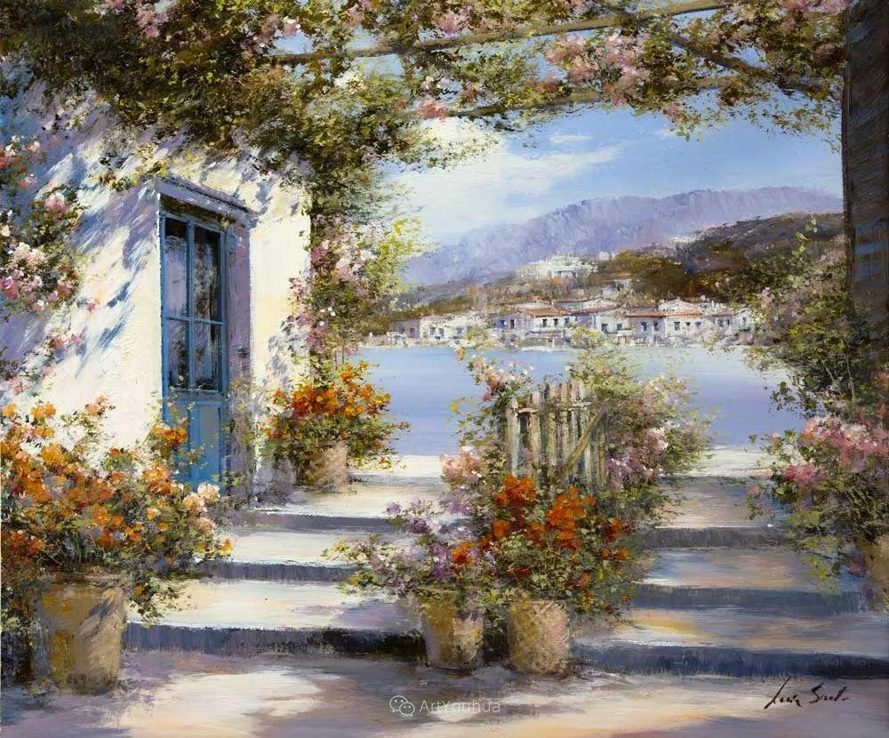 温暖如花,浪漫一刹!意大利浪漫印象主义女画家Lucia Sarto插图55