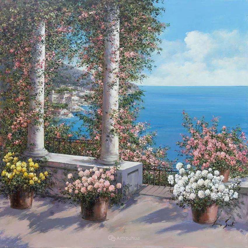 温暖如花,浪漫一刹!意大利浪漫印象主义女画家Lucia Sarto插图59