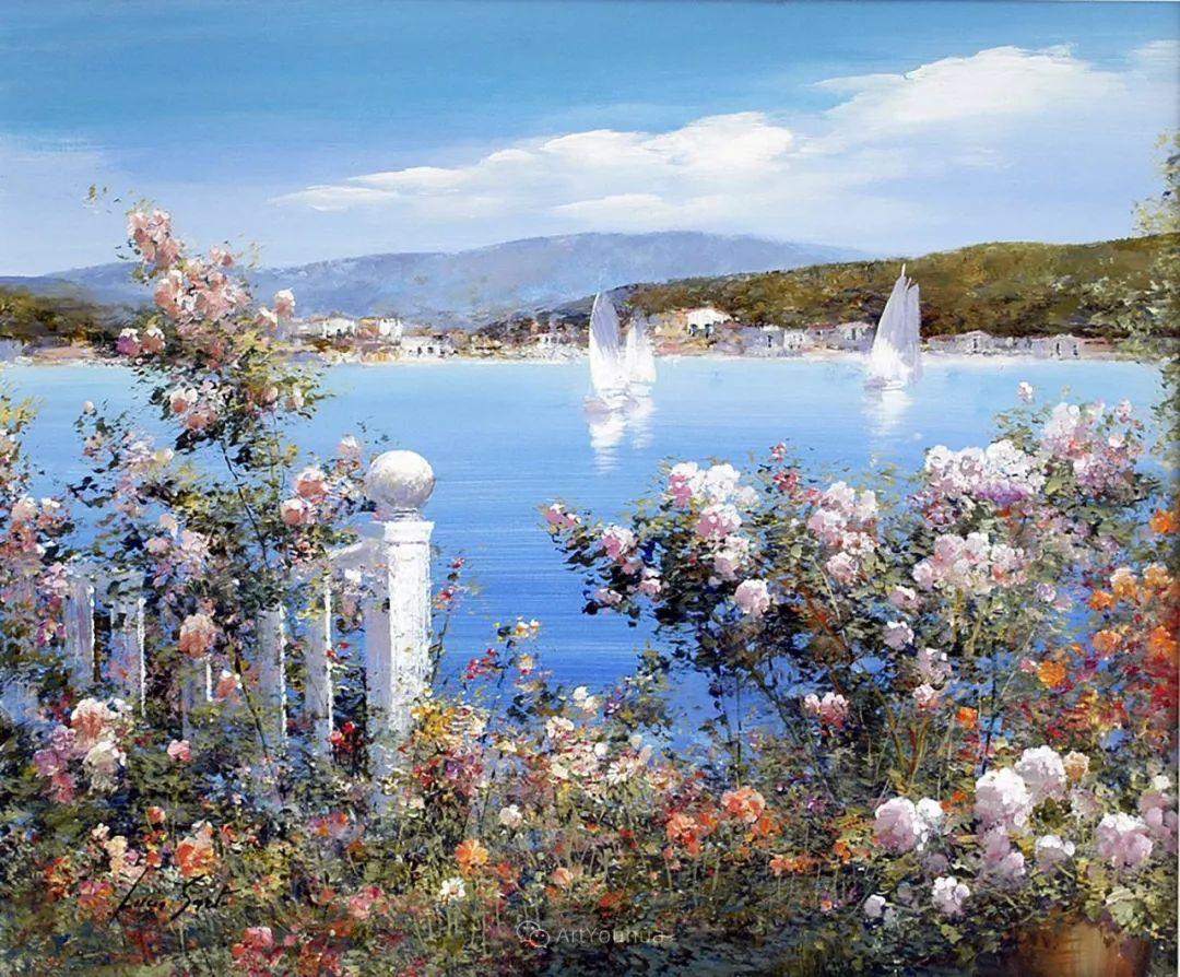 温暖如花,浪漫一刹!意大利浪漫印象主义女画家Lucia Sarto插图61