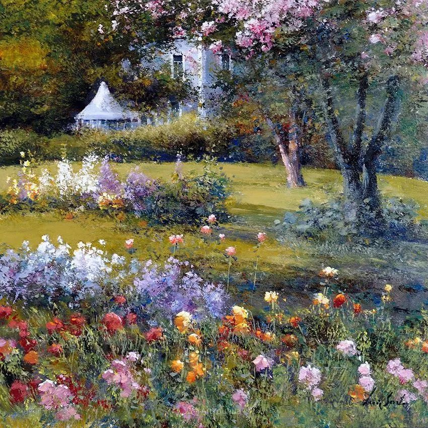 温暖如花,浪漫一刹!意大利浪漫印象主义女画家Lucia Sarto插图63