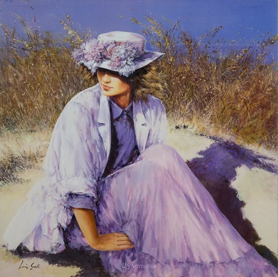 温暖如花,浪漫一刹!意大利浪漫印象主义女画家Lucia Sarto插图65