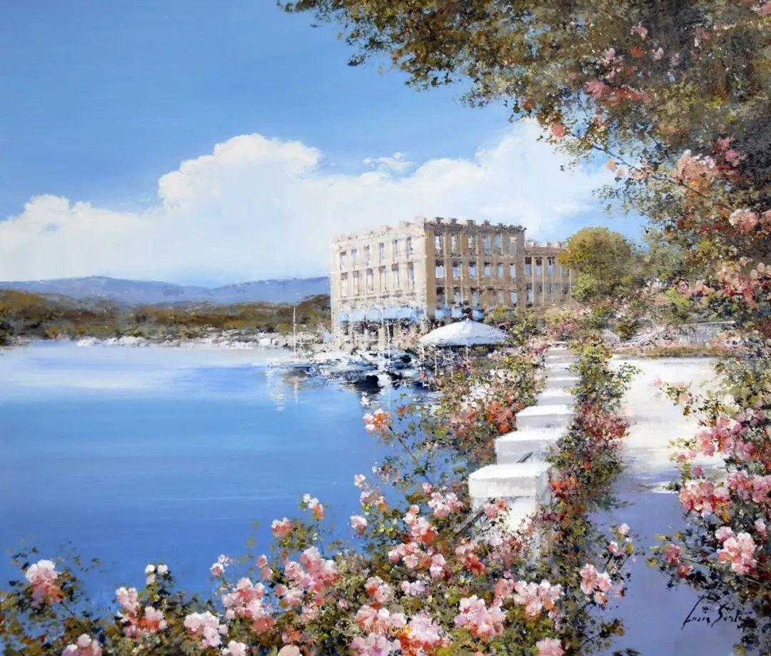 温暖如花,浪漫一刹!意大利浪漫印象主义女画家Lucia Sarto插图67