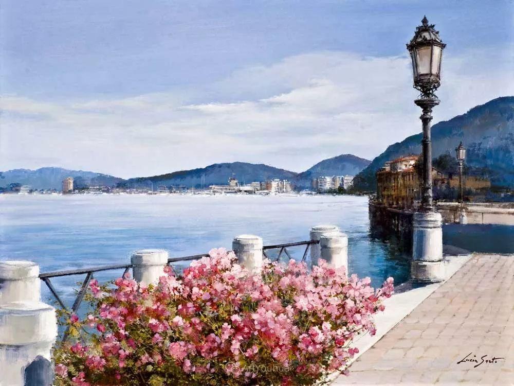 温暖如花,浪漫一刹!意大利浪漫印象主义女画家Lucia Sarto插图71