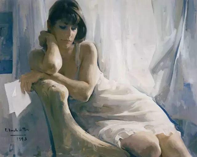 一生只爱画美人,西班牙肖像画家Felix Revello de Toro插图1