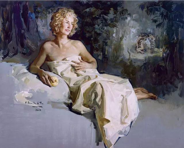 一生只爱画美人,西班牙肖像画家Felix Revello de Toro插图2