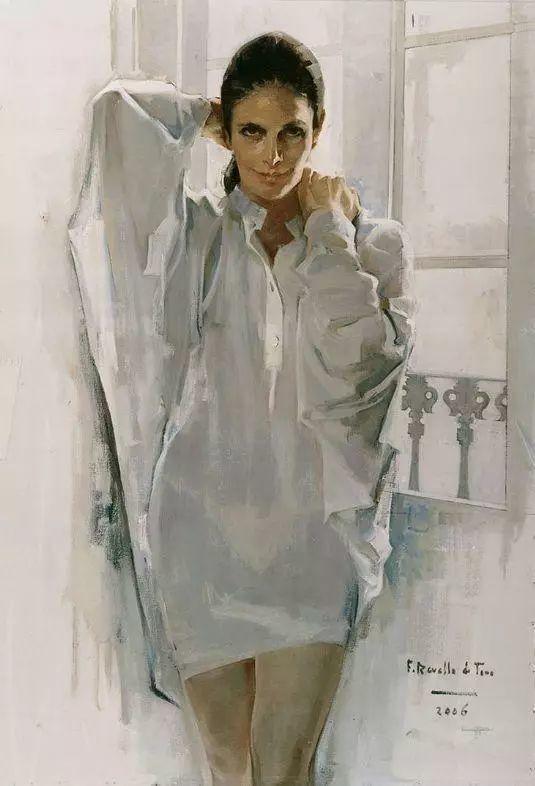 一生只爱画美人,西班牙肖像画家Felix Revello de Toro插图3
