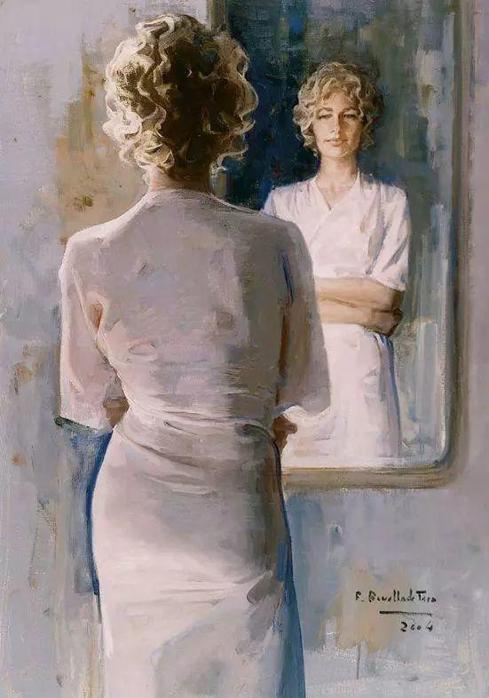 一生只爱画美人,西班牙肖像画家Felix Revello de Toro插图4