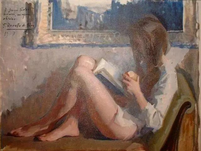 一生只爱画美人,西班牙肖像画家Felix Revello de Toro插图5