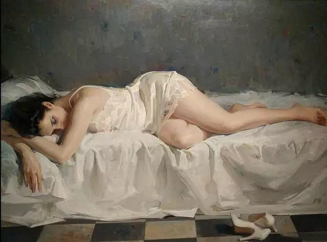 一生只爱画美人,西班牙肖像画家Felix Revello de Toro插图8