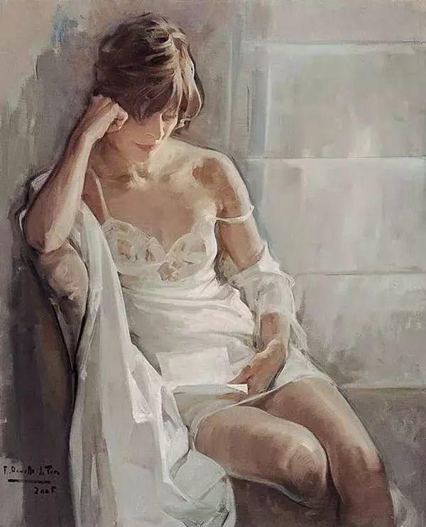 一生只爱画美人,西班牙肖像画家Felix Revello de Toro插图11
