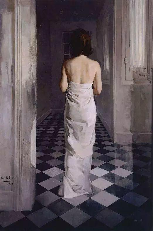 一生只爱画美人,西班牙肖像画家Felix Revello de Toro插图13